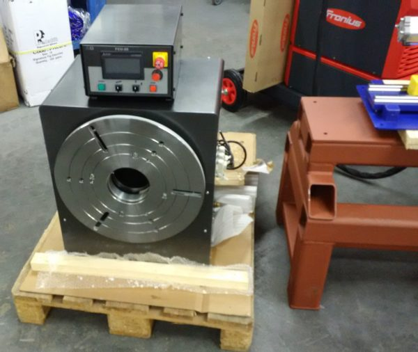fronius rotater for welding