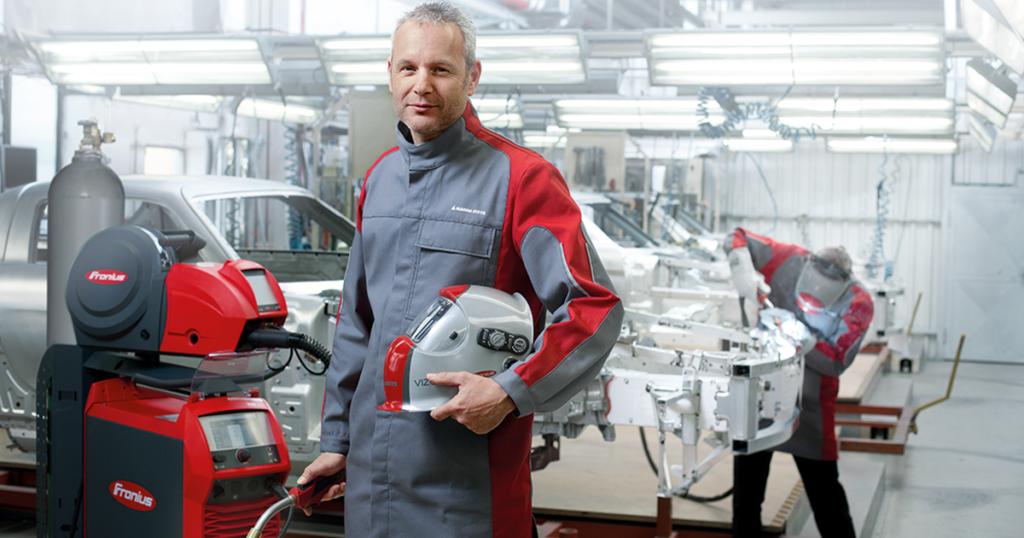 Benefits and features of fronius welding equipement