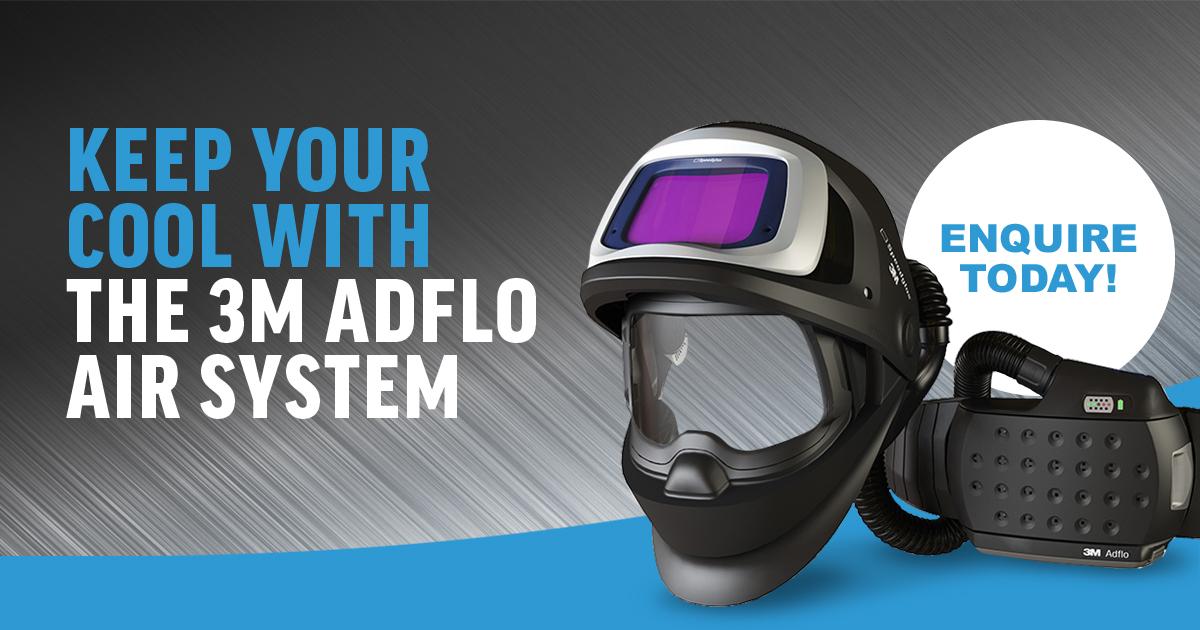 3M Adflo Welding Facemask